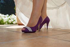 zapatos morados para novia - Buscar con Google
