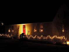 Old Sturbridge Village Christmas by Candlelight.  Oh yes please.