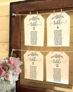 Wedding Seating Chart Template Printable Wedding Seating
