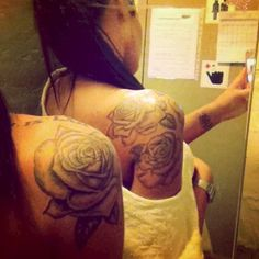 unfinished bow tattoo - Google Search I like the placement