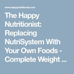 Nutrisystem Review Losing weight has never been easier Success