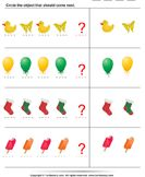 Identify pattern - geometry - Preschool---this site has great printable worksheets Pre K Math Worksheets, Shape Worksheets For Preschool, Shape Tracing Worksheets, Geometry Worksheets, Free Printable Worksheets, Preschool Math, Pattern Worksheet, Free Math, Math Concepts
