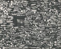 Web umenia   Martin Martinček - Okienko v drevenici