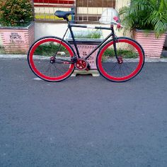 My bike #fixedgear #fixie