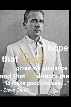 Steve Carell Don't hope, just pray! Religious Quotes, Spiritual Quotes, Faith Quotes, Life Quotes, Meaningful Quotes, Inspirational Quotes, Steve Carell, Faith In Love, Celebration Quotes