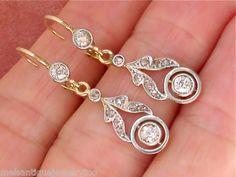 killer art nouveau earrings