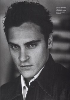 Joquin Phoenix; one of my fab actors, best role as Johnny Cash in Walk The Line.