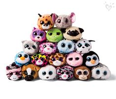 Teeny TY's for everyone! Pile on the fun! So many toys and all the time in the world.