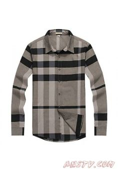 Hommes's Burberry TextuRouge Stripe Shirts mshirt112
