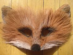 buying this for halloween - red fox fur mask by YoungBloodOldSoul on Etsy