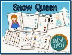 Snow Queen / Frozen Mini Unit (free; from 2 Teaching Mommies)
