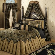 Imperial Ruffled Flounce Grande Bedspread Bedding