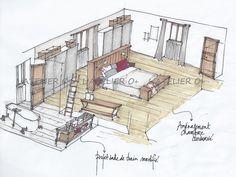 Plan Chambre Parentale Avec Salle De Bain Et Dressing #10 ...