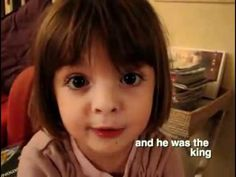 The cutest little French storyteller~ She will steal your heart ♥ - YouTube