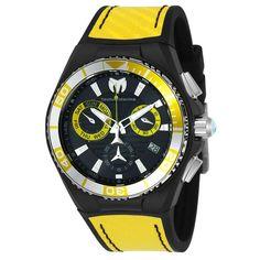 Technomarine Men's TM-115181 Cruise Quartz Black Dial Watch