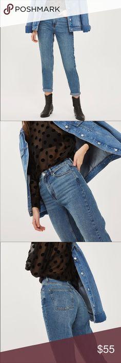 Top Shop Moto Mom Jeans Top Shop Moto Mom Jeans Topshop Jeans