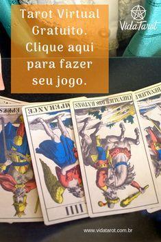 Tarot virtual gratuito. Clique aqui para fazer seu jogo.#tarot #grátis Tarot Virtual, Taro Gratis, 7 Chakras, Cover, Blog, Psychic Readings, Read Letters, Palm Reading, Tarot Decks