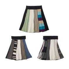 These skirts go against every design we have featured thus far and for good reason. Instead of following in the wastefulness of the fashion industry, a designer has decided to use reclaimed cotton ...