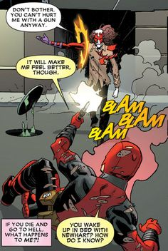 """Deadpool V4 #12...you know? the new series doesn't have the charm of vol.1 and 2, but I'll take """"okay-ish deadpool"""" over """"no deadpool"""" anyday!"""