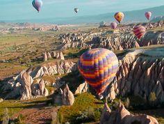 Uçaklı Kapadokya Turu - Gezenthi Travel Doğanın elleriyle işlediği büyüleyici Kapadokya Turu