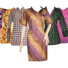 Hanya Hari Ini Gratis Ongkir SeJawa Baju Batik Wanita 5 pcs300rb