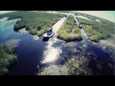 Awesome video of Airboat on the everglades