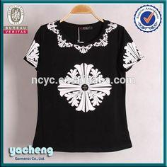 180g cotton spandex o neck cheap price custom design t shirt for ladies from china, View cheap custom printed t shirts, Yacheng Product Details from Nanchang Yacheng Garment Co., Ltd. on Alibaba.com