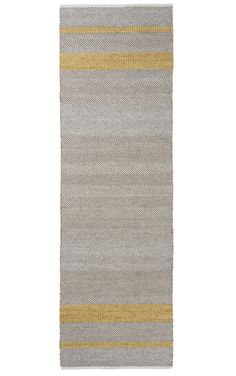 WovenGround Rugs | Modern Rugs | Norwich - Runner Rugs | Yellow
