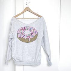 Donut Shirt - ein Designerstück von onemugaday bei DaWanda