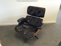 An original Charles Eames 'Lounge Chair ' manufactured by Herman Miller. A real collector's item