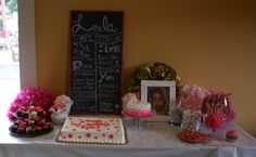 Happy First Birthday to my daughter Leela.  It was a joy creating this table for her birthday party.