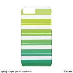Spring Stripes iPhone 7 Case
