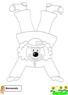 mikapanteleon-PawakomastoNhpiagwgeio: Carnaval en crèche 2017 Source by tinakarakitsa Clown Crafts, Circus Crafts, Carnival Crafts, Carnival Themes, Circus Birthday, Circus Theme, Clown Party, Create Invitations, Camping Crafts