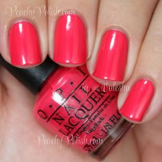 A Definite Moust-Have Opi Gel Polish, Gel Polish Colors, Opi Nails, Nail Polishes, All Things Beauty, Girly Things, Opi Pink, Minnie, Mani Pedi