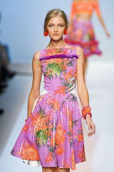 Blumarine at Milan Fashion Week Spring 2012 - StyleBistro