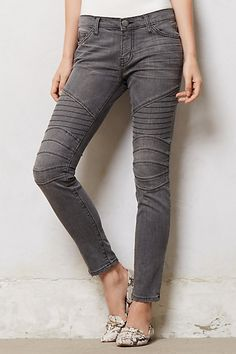"Current/Elliott Moto Ankle Skinny Jeans | Anthropologie |  details: By Current/Elliott, Five-pocket styling, Cotton, elastane, Machine wash, 29""L, 8"" rise; 5"" ankle, USA, Style #: 28479228"