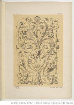 Specimens de la décoration et de l'ornementation au XIXe siècle / par Liénard - 28