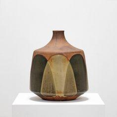 Glaze pouring. David Cressey