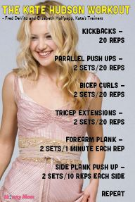 The Skinny: Kate Hudson's Workout | Skinny | Skinny Mom | How to get skinny fast | Get Skinny | Skinny tips by modern fit and Skinny moms
