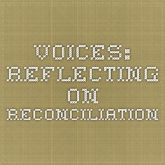 Voices is a collection of words and images by Native and non-Native people, reflecting on the work of reconciliation, engagement, advocacy, change and healing in the Maine-Wabanaki communities.