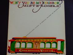 Mister Rogers - Won't You Be My Neighbor? - Childhood Special - Small World Records 1967 - Vintage Children's Vinyl LP Record Album by notesfromtheattic on Etsy