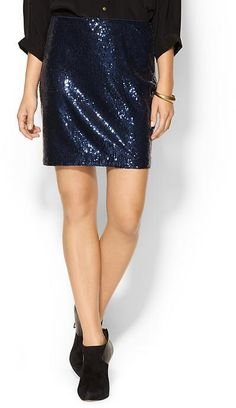 Piperlime Collection Sequin Mini Skirt
