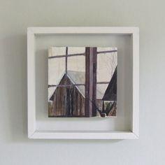 John Hainsworth    Tallet Roost,  oil on aluminium  10cm x 10cm