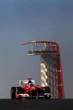 Fernando Alonso, USA GP Austin 2012. I was there!!!!!!