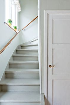 Färger och trappräcke