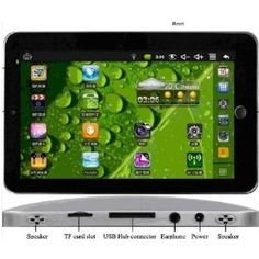 7 Inch Epad Android 2.2 VIA 8650 Camera Flash 10.1 Two Point Touch 3g Wifi Tablet Pc (Personal Computers)  http://www.amazon.com/dp/B005AO9RGY/?tag=aloneinthewai-20