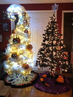 BROTHERTEDD.COM - So excited that we got to build our Haunted... Nightmare Before Christmas, Christmas Tree, Holiday Decor, Home Decor, Teal Christmas Tree, Decoration Home, Room Decor, The Nightmare Before Christmas, Xmas Trees