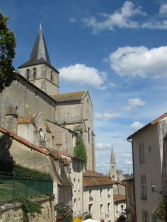 Montmorillon,La Cité de l'Ecrit and one of my favourite places here, it's a French Hay-on-Wye with medieval buildings to boot!