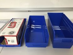 Plastic Shelf Bins from Monster Bins - Largest Selection, Lowest Prices & Fastest Shipping - Ideal for Warehouse, Supply Room, Office or Home