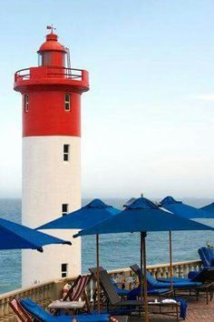 Lighthouse in Umhlanga - South Africa Pretoria, Durban South Africa, Kwazulu Natal, Beacon Of Light, Africa Travel, Cape Town, Places Ive Been, Around The Worlds, Light House